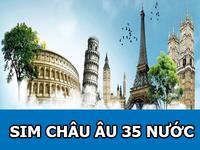 Hot  Khuyến mại Sim 3G/4G du lịch các nước châu Âu