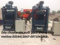 Điện máy sao việt chuyên cung cấp đây chuyền sản xuất gạch không nung