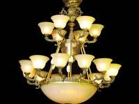 Đèn chùm đồng Bát Tràng QN-HT920
