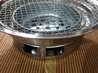 Bếp nướng âm bàn giá rẻ kèm vỉ nướng inox 304 cao cấp