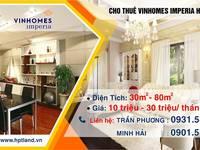 Cho Thuê 5 tầng mặt đường Shophouse Vinhomes Imperia - Hải Phòng kinh doanh, cửa hàng