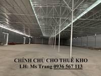 Chính chủ cho thuê kho 500-1000m2 tại Ngọc Hồi, Thanh Trì, Hà Nội  cách bến xe Nước Ngầm 3.5...