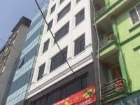Cho thuê nhà mặt phố Vạn Bảo: 50m2 x 7 tầng, mặt tiền 7m, nhà thông, có thang máy.