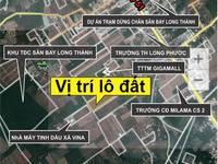 Đất nền liền kề TTTM Giga Mall Long Thành - Sân bay quốc tế Long Thành