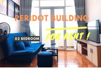 Căn hộ 02 phòng ngủ chung cư Peridot cho thuê giá tốt