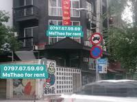 TÒA NHÀ 4 lầu cho 2 góc mặt tiền Điện Biên Phủ và Phan Tôn Q1