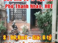 Bán nhà số 17 ngõ 167 phố Thanh Nhàn, quận Hai Bà Trưng, Hà Nội