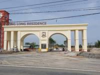 Mua đất được tặng vàng Hưng Long Residence, 459tr sở hữu nền đất như ý