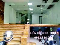 Cho thuê nhà mặt phố kinh doanh Spa,Showroom,Văn phòng đại diện..MT 6,8m,90m2X4 sàn tại Thanh Xuân