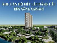 Tài chính 300 triệu - Sở hữu ngay căn hộ 3 mặt view sông, cách chợ Lái Thiêu chỉ 500m...