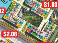 Bán căn hộ Vinhomes Ocean Park căn S1012716 1PN 1 1WC  giá chỉ 1337TR