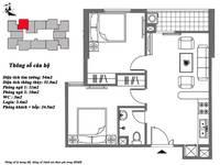 Bán căn 52 m2 2PN giá 805 triệu tại Mipec Kiến Hưng hà đông.lh.0912751722