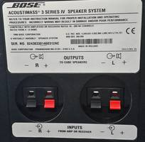 3 Bose Life style Acoustimass M5,M6,M7,M9,M10,M15,M20,M25, M30 và Bose cube array, red line, jewel