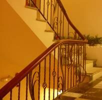 1 Cầu thang sắt nghệ thuật