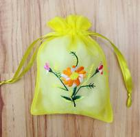 15 Cung cấp túi vải voan, túi thơm, túi đựng quà tặng
