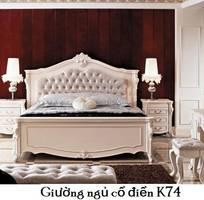 Giường ngủ cổ điển, giá rẻ đặc biệt tại Q2 và Q7 TpHCM, Cần Thơ
