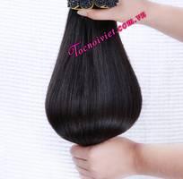 12 Bán mái ngố giả bằng tóc thật có da đầu giá rẻ, mái xéo, mái phồng