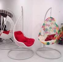 3 Xích đu mây nhựa nghệ thuật cao cấp an toàn sạch sẽ thân thiện cho mẹ và bé