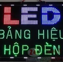 3 Làm bảng đèn LED, Thi công hộp đèn LED giá rẻ - Bình Dương-TPHCM.0908605862