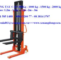 XE NÂNG TAY CAO , XE NÂNG TAY CAO 1,6m  với tải trọng 2 tấn  giá rẽ
