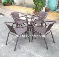Thanh lý bộ bàn ghế cafe giá rẻ  760.000 đ/bộ