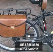 Túi da treo xe đạp