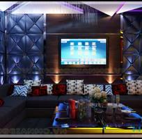 Thiết kế và thi công trọn gói phòng Karaoke giá rẻ - Nội thất Không Gian Mở