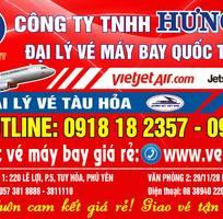 Vé máy bay hưng việt 220 Lê Lợi, Tuy Hòa, Phú yên