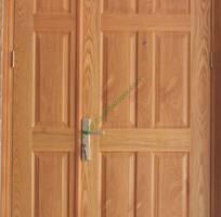 9 Cửa công nghiệp HDF phủ veneer, cửa nhựa giả gỗ, cửa chống cháy quận 9, Thủ Đức