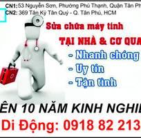 Tân Phú, Tân Bình -  Sửa máy tính tận nơi   tại công ty, văn phòng, nhà riêng.
