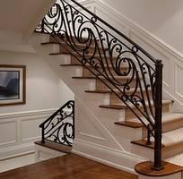 8 Cầu thang sắt nghệ thuật