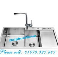 Bồn rửa nhà bếp 100 inox, hàng chất lượng, giá tốt tại DaiPhucHome
