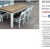 Bộ bàn gỗ 6 ghế