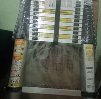 1 Thanh lý thang nhôm rút cao 3m8 giá rẻ