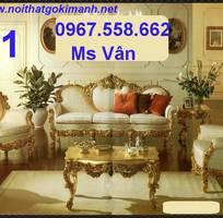 12 Sofa co dien - sofa gỗ cổ điển - sofa tân cổ điển giá rẻ
