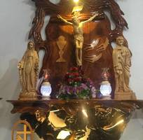Bộ bàn thờ công giáo BT01