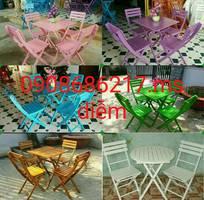 4 Bàn ghế cafe sân vườn giá rẻ