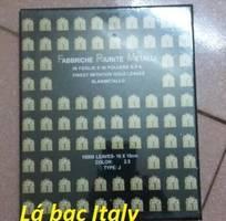 Chuyên bán các loại thiếp lá bạc Italy với nhiều kích thước khác nhau phục vụ khách hàng
