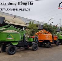 7 Máy xây dựng Hồng Hà - Máy trộn bê tông tự cấp liệu