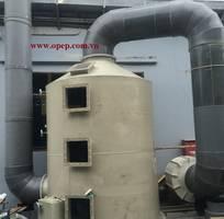10 Tháp hấp thụ khí thải bằng nhựa :PE, PVC-PP-FRPcompositte