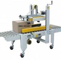 2 Máy dán nắp thùng carton bán tự động model WP-5050SA