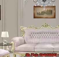 1 Sofa tân cổ điển hồ chí minh, sofa tân cổ điển nhập khẩu cao cấp