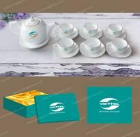 2 Bộ ấm trà giá rẻ tại Huế - In ấm trà theo yêu cầu tại Huế.