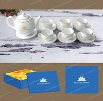 3 Bộ ấm trà giá rẻ tại Huế - In ấm trà theo yêu cầu tại Huế.