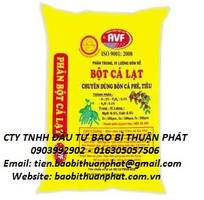2 Chuyên cung cấp bao PP dệt đựng bột mì, bột cá, tinh bột bắp, sắn dây.