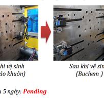 1 Chất tẩy dầu mỡ, chất tẩy rửa cho khuôn ép nhựa hóa chất Buchem