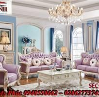 1 Sofa tân cổ điển hoàng gia - đẳng cấp phòng khách của biệt thự, chung cư cao cấp