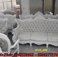 5 Sofa tân cổ điển hoàng gia - đẳng cấp phòng khách của biệt thự, chung cư cao cấp