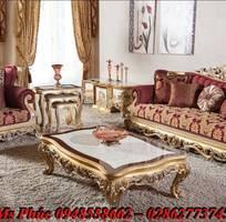 6 Sofa tân cổ điển hoàng gia - đẳng cấp phòng khách của biệt thự, chung cư cao cấp