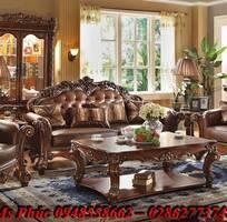 15 Sofa tân cổ điển hoàng gia - đẳng cấp phòng khách của biệt thự, chung cư cao cấp